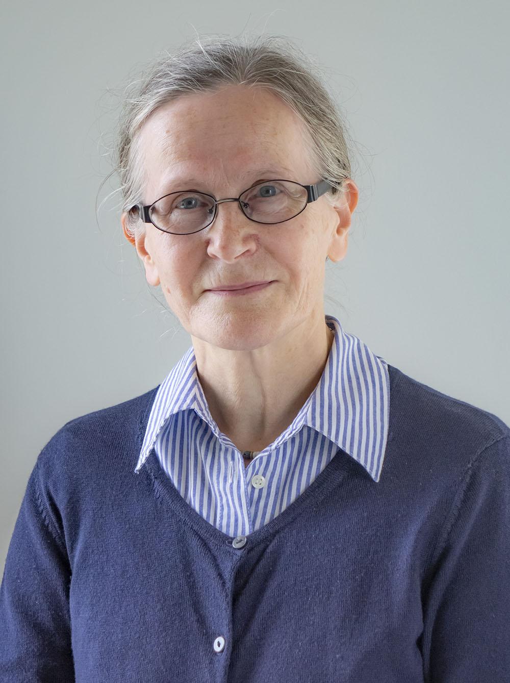 Biografiförfattaren Sigbritt Backman
