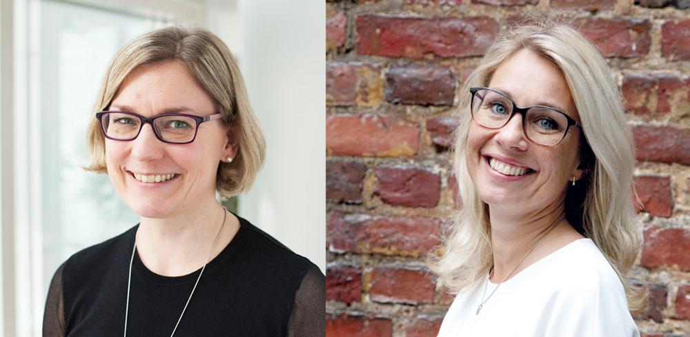 Mari Pennanen och Anna-Karin Öhman